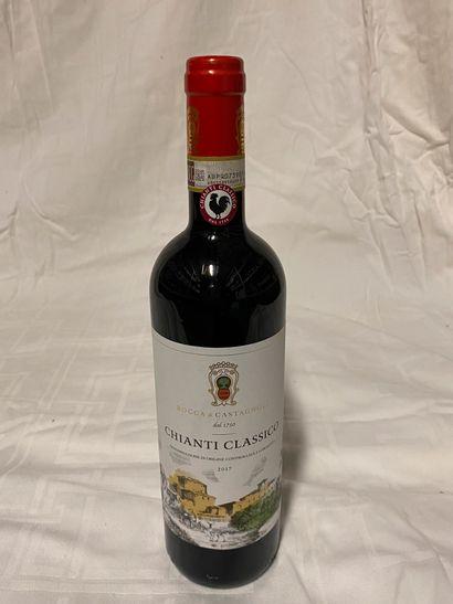 Lot de 42 bouteilles  Rocca di Castagnoli...