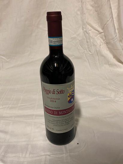 Lot de 6 bouteilles  Poggio di Sotto  Rosso...
