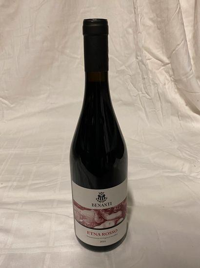 Lot de 4 bouteilles  Benanti  Etna Rosso,...