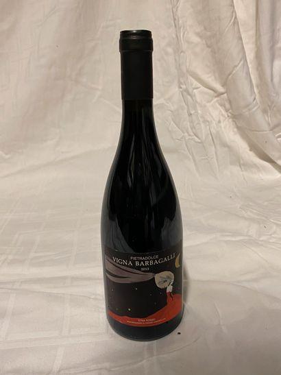 Lot de 6 bouteilles  Pietradolce  Vigna Barbagalli,...