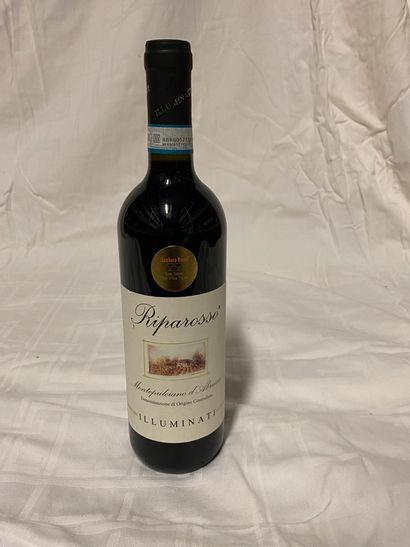 Lot de 30 bouteilles  Illuminati  Riparosso,...