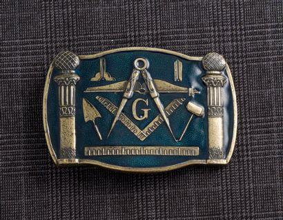 Boucle de ceinture type cavalerie Américaine...