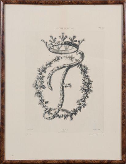 21 reproductions de RANSON représentant les...