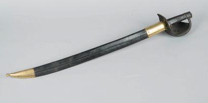 Sabre d'abordage modèle 1833  Poignée à pans...