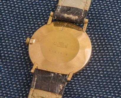 ARDATH Montre classique, le boîtier en or jaune 18 carats (750 ‰) à fond clippé (numéroté),...