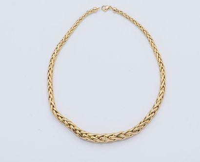 Collier chaîne en or jaune 18 carats (750...