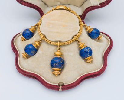 Bracelet néoclassique dans le goût de l'antique...