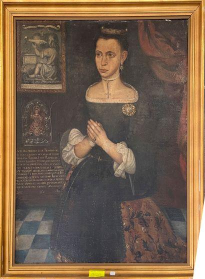 Ecole Espagnole du début du XVIIIème siècle...