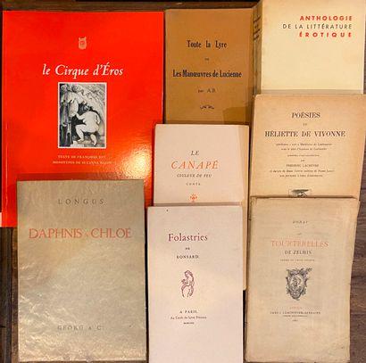 [CURIOSA] Ensemble de 8 volumes brochés