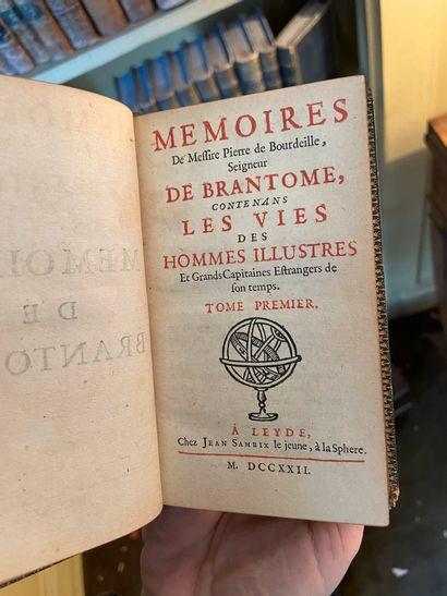 BRANTOME. Mémoires de Messire Pierre de Bourdeille, seigneur de Brantome, contenans...