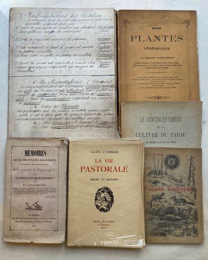[SCIENCES NATURELLES] Ensemble de 12 volumes...