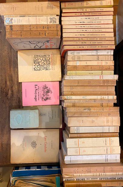 [LITTÉRATURE 5] Ensemble de 70 volumes b...