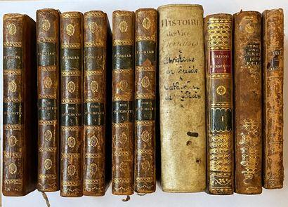 [ANCIENS] Ensemble de 5 titres en 10 volumes...