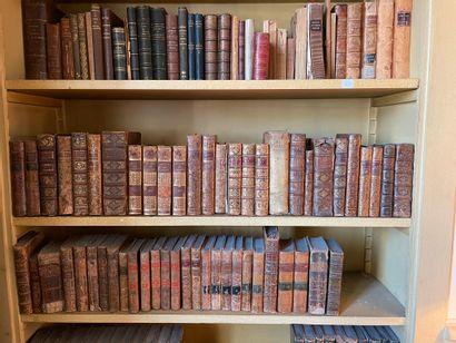 Lot de livres anciens dont : Horace, Nouvelle...