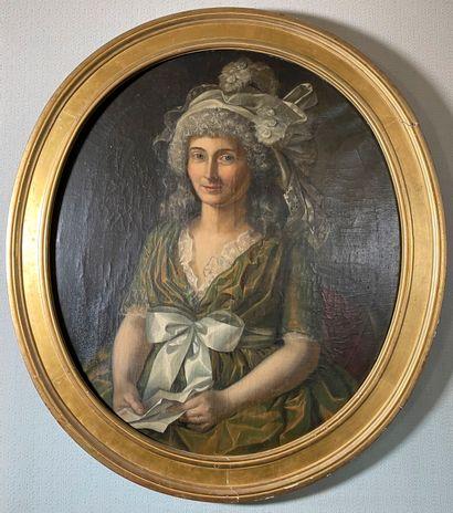 Ecole française de la fin du XVIIIème siècle,...