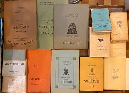 [LITTÉRATURE 5] Ensemble de 70 volumes brochés