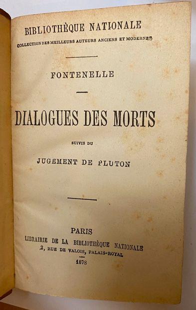 [ANCIENS] Ensemble de 5 titres en 10 volumes in-12, dont  - CERVANTES. Don Quichotte...