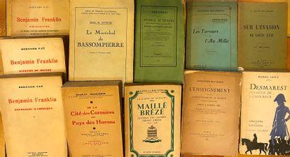 [HISTOIRE] Ensemble de 45 volumes. Viénot, Guides illustrés Michelin…