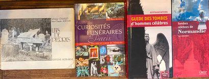 [ART FUNERAIRE] Ensemble de 9 volumes dont CHABOT (Dictionnaire illustré de Symbolique...