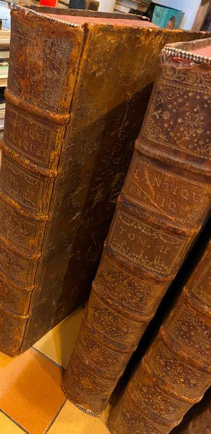 Bernard de MONTFAUCON. L'Antiquité expliquée et représentée en figures. Supplément...