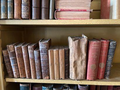 Lot d'ouvrages anciens dont Pensées de Pascal...