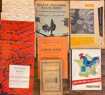 [VARIA] Ensemble d'une trentaine de volumes sur divers sujets dont des tomes de...