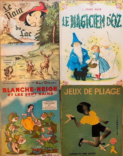[ENFANTINA] Ensemble de 33 volumes. Rabier, Morin, Saint-Ogan, Brunhes, Marty, Loriaux,...
