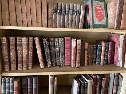 Lot d'ouvrages de littérature reliés, dont...