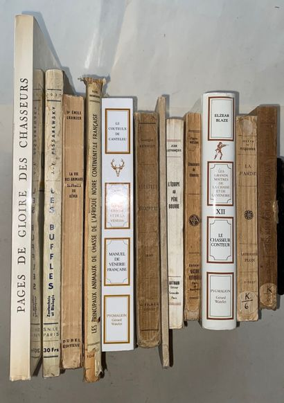 [CHASSE] Ensemble de livres sur la Chasse....