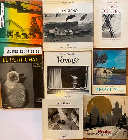 [PHOTOGRAPHIE] Ensemble de 8 volumes. Eddy Landau, Daniel-Rops, Desjardins, Ker...