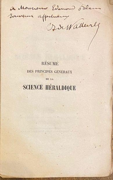 [HERALDIQUE] Ensemble de 25 volumes dont : 2 tomes du Jougla de Morenas, Sirjean...