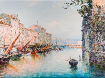 Italo GIORDANI (1882-1956),