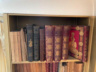 Lot d'ouvrages d'Histoire dont :  - Duruy. Histoire des Romains. 1879, 4 volumes...