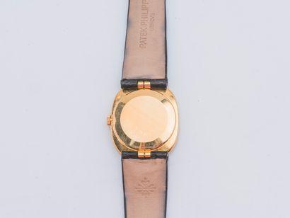 PATEK PHILIPPE vers 1975 Montre modèle Ellipse réf. 3548, le boîtier ovale en or...