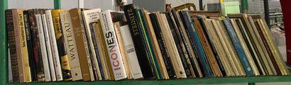 1 lot de livres d'art