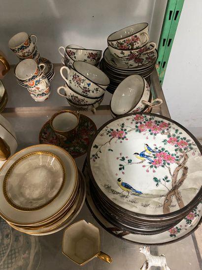 Important lot de vaisselle déparaillée dont...