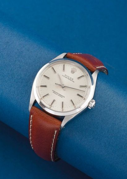 ROLEX (Oyster Perpetual - Silver réf.1002),...