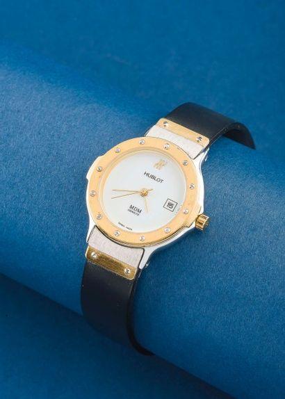 HUBLOT (Classique Lady - Lunette or jaune...