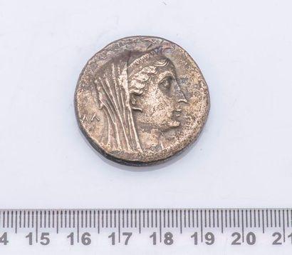 MONNAIE GRECQUE EGYPTE : Arsinoé II (Epouse de Ptolémée II Philadelphe) (285 – 246 avant J.C.)