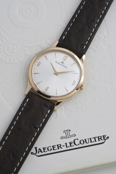 JAEGER-LECOULTRE JAEGER-LeCOULTRE (MASTER CONTROL 1000 H - ULTRA THIN / OR ROSE RÉF....