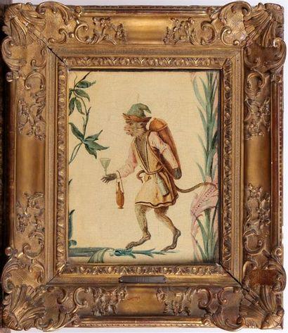 DANS LE GOÛT DE CHRISTOPHE HUET (1700-1759)...