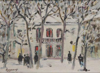 ROBERT SAVARY (1920-2000) Théâtre de l'Atelier...