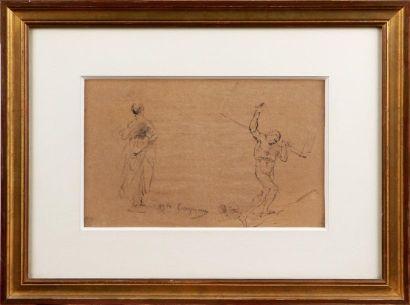 JEAN-BAPTISTE CARPEAUX (1827-1875) Étude...
