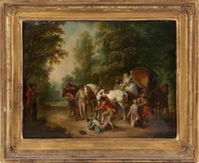 ATTRIBUÉ À JAN PEETER VERDUSSEN (1660-1753)...