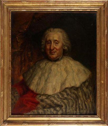 FRANÇOIS-LOUIS LONSING (1739-1799) Portrait d'André Jacques Hiacinthe Le Berthon,...