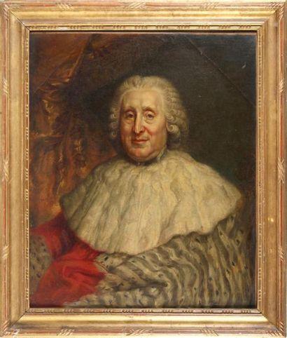 FRANÇOIS-LOUIS LONSING (1739-1799) Portrait...