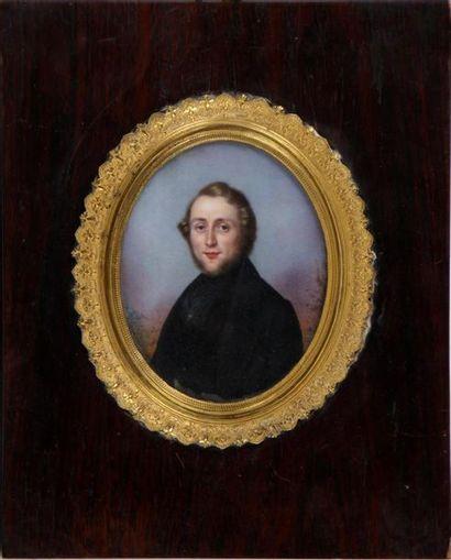 ÉCOLE FRANÇAISE DU XIXe SIÈCLE Portraits...