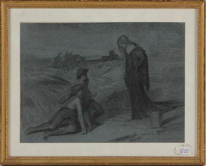 ÉMILE LEVY (1826-1890) L'apparition Mine...