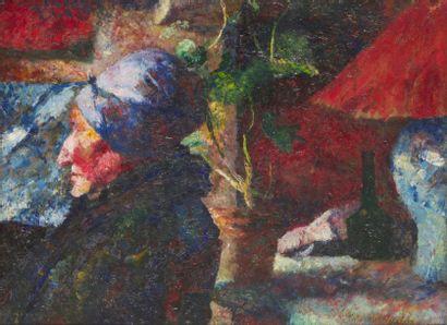 GUY FERRIS MAYNARD (1856-1936) Profil de...
