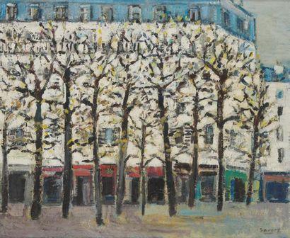 ROBERT SAVARY (1920-2000) Paris, place Constantin-Pecqueur...
